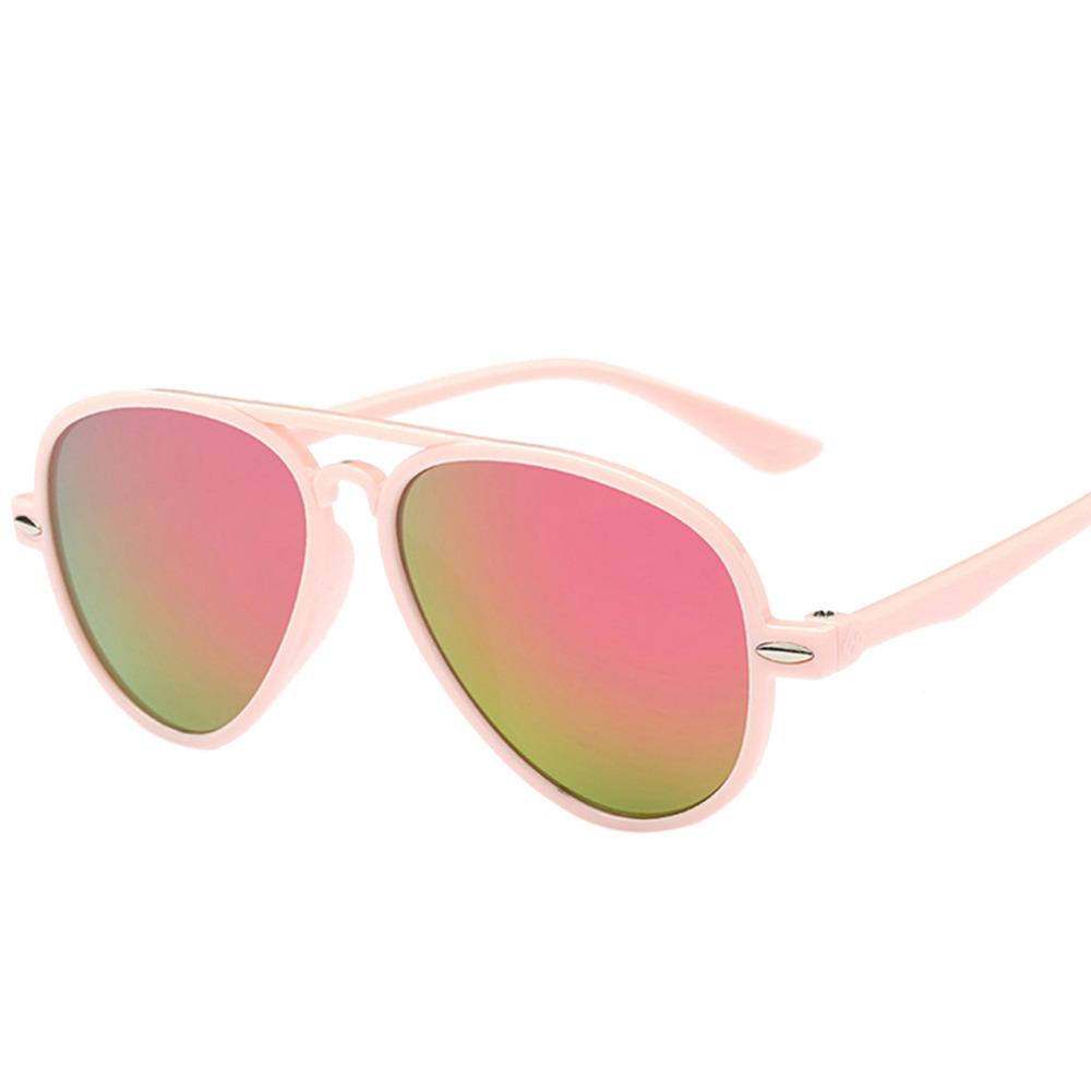 OUTEYE Vintage Baby Boy Girls Kids Sunglasses sunshade Coating Sunglasses Children Sun Glasses Oculos De Sol