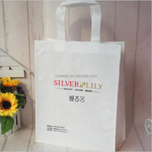 Hot sale recyclable non woven fabric shopping tote bag