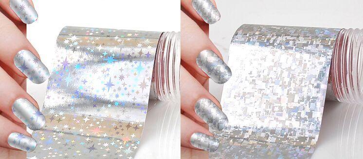 2018 Nail Art With Foil Nail Art Foil 300xnail Art Transfer Foil