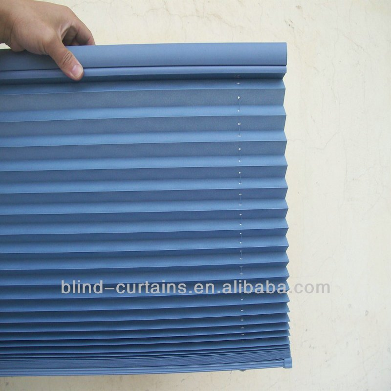 Good quality pleated blind&plisse curtain&plissee blind hot sale