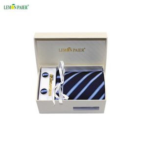 The Best Gift For Men With Customized Woven Tie Set