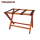 YIKai hotel room solid wood folding luggage rack