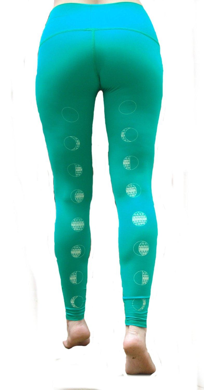 a9b66cc3764a2 Get Quotations · Teeki - Designer Active Wear - Moon Dance Kelly Green Hot  Pant