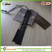 print price black kraft paper tag labels for clothes