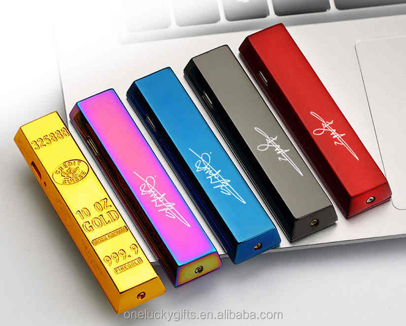 Bullion rechargeable cheap custom lighter electric usb lighter