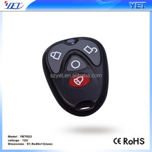 Adjustable Frequency 260~490Mhz cute body Remote Control car alarms