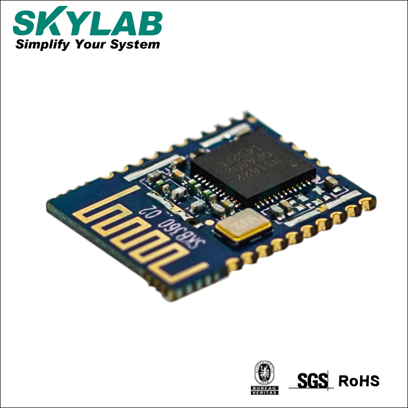 SKYLAB SKB360 ibeacon beacon solution 32 bit ARM Cortex-M0 L2CAP/ATT/SM Nordic nRF51822 UART bluetooth 4.0 low energy module