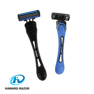 5 blade disposable body hair removal ergonomic shaving razor for sale