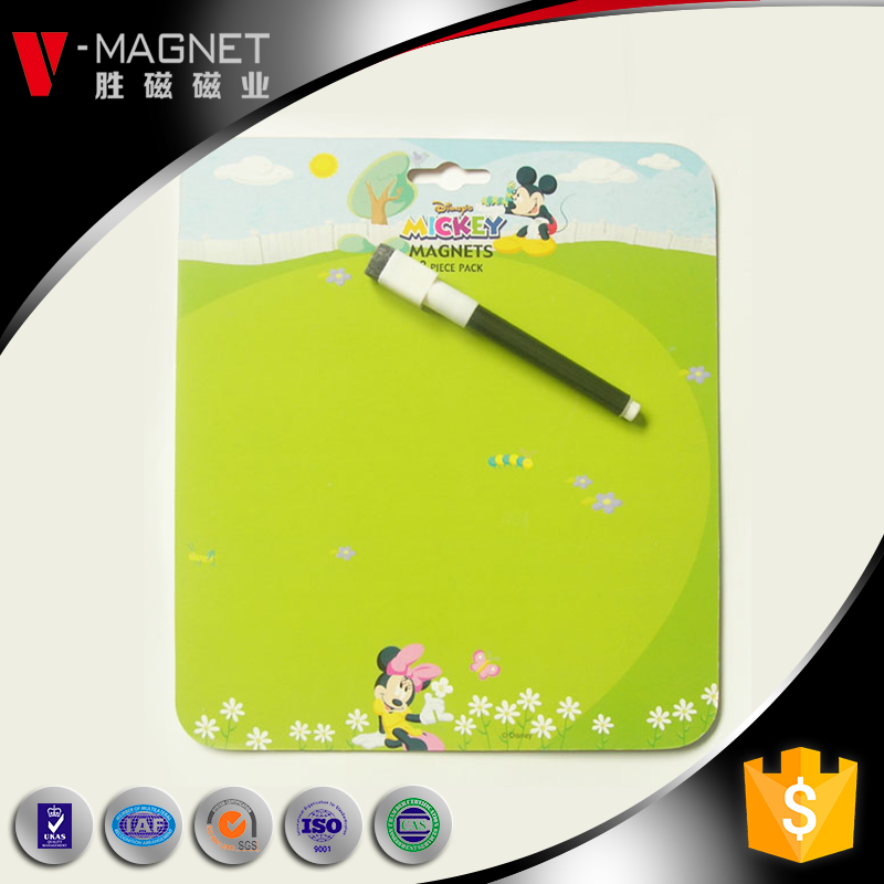 Cina fornitura magnete erase dry magnetic wipe bordo bianco