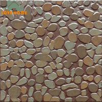 popular anti slip bathroom glazed ceramic floor tile types