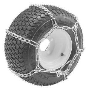 Oregon 67-011 Lawn & Garden Tire Snow Chains With 4-Link Spacing Size 23X950-12 & 23X1050-12 Tire Snows by Magneto Power