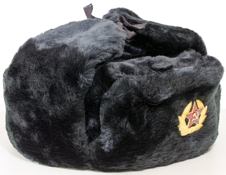 e912f7e308e Get Quotations · craftsfromrussia Russian Ushanka Hat Bundle - Extra Set of  6 Soviet Badges   Summer Cap