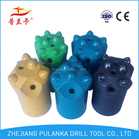 40mm 4 & 5 & 6 & 7 & 8 buttons 7/11/12 degree tapered paper drill bit