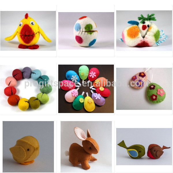 2018 Hot Sale Items Wholesale Handmade Fabric Animal Craft Kids