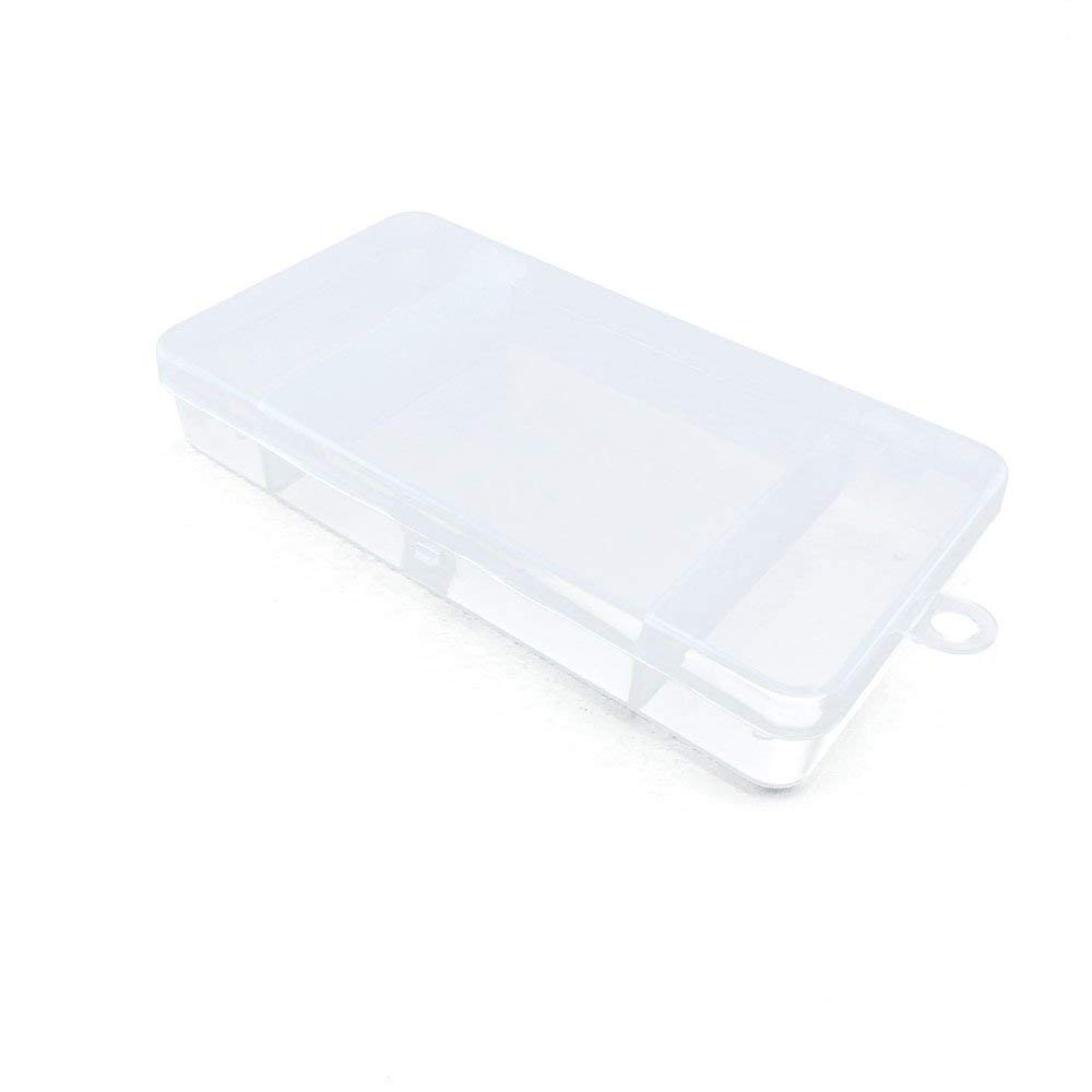 10 PCS Clear Beads Tackle Box Arts Crafts Tackle Storage Plastic Boxes Organizers Containers Case XX018