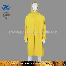 glossy heavy rubber raincoat for sale-RC002