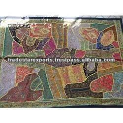 Vintage Wall Hanging,Handmade By Artisans Of India,Antique Patchwork Wall  Decor - Buy Patchwork Wall Hanging,Vintage Wall Decor,Wall Art India  Product
