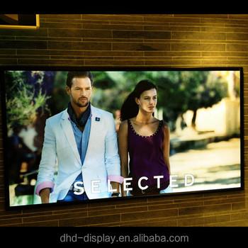 Cheap Poster Frame Led Light Board Snap Fame Duratrans Light Box - Buy  Duratrans Light Box,Led Light Board,Led Snap Frame Light Box Product on