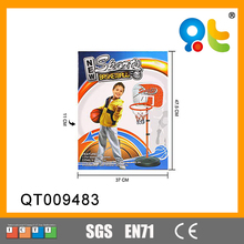 Kid outdoor portable basketball stand movable