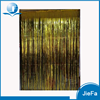 OEM Wedding/Party Hanging Foil Fringe Door Photo Backdrop Tinsel Gold Metallic Curtains