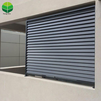 Automatic Luxury Furniture External Sun Shading fixed louver