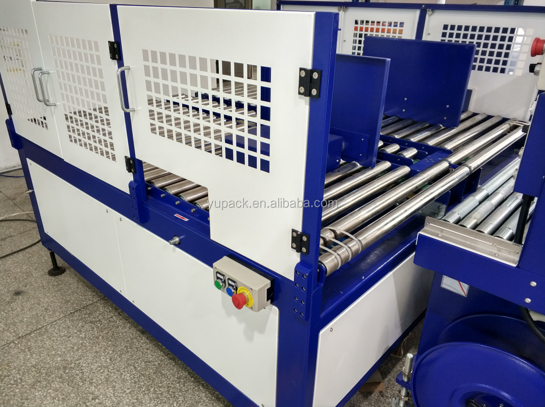 LX305B high speed fully automatic corrugated bundler with reorganize system
