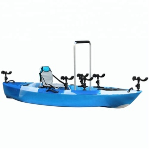 Single Fishing Canoe Plastic Kayak Sit on top kayak Jet kayak
