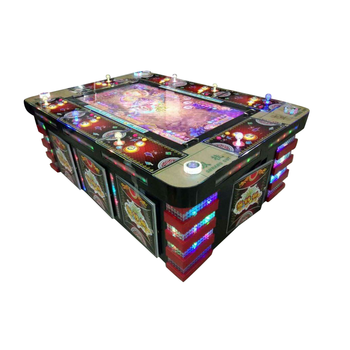 Copy IGS game board hold 30% KOT, Manufacture 8 players video Coin Gambling Fish Game Machine Slot
