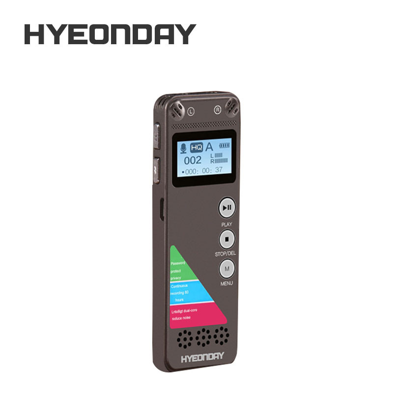 Wireless audio recording device voice recorder digital voice record device