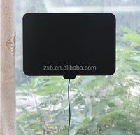 ultra-thin amplified indoor digital tv antenna long range antenna HDTV Indoor Antenna