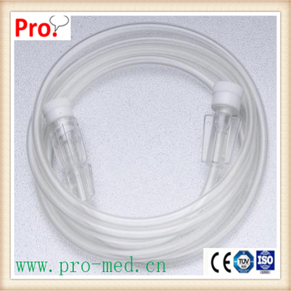 Medical PVC Flow regulator Infusion Extension tube Extension line