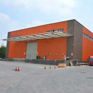 2018 Factory Price Light Frame Prefabricated Steel Building Industrial Shed Designs Prefab House