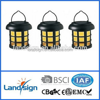 Ningbo Plastic Black Small Solar Lantern For Camping/emergency Use ...