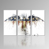 Eagle Fine Art Painting,Abstract Flag Canvas Print,Home Decoration Wall Photo