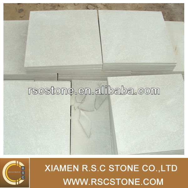 natural stone white quartz slate tile