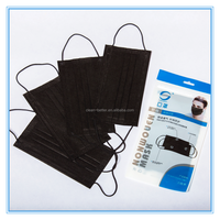 Disposable 4 Ply Activated Carbon Non Woven Face Mask Dust Mask