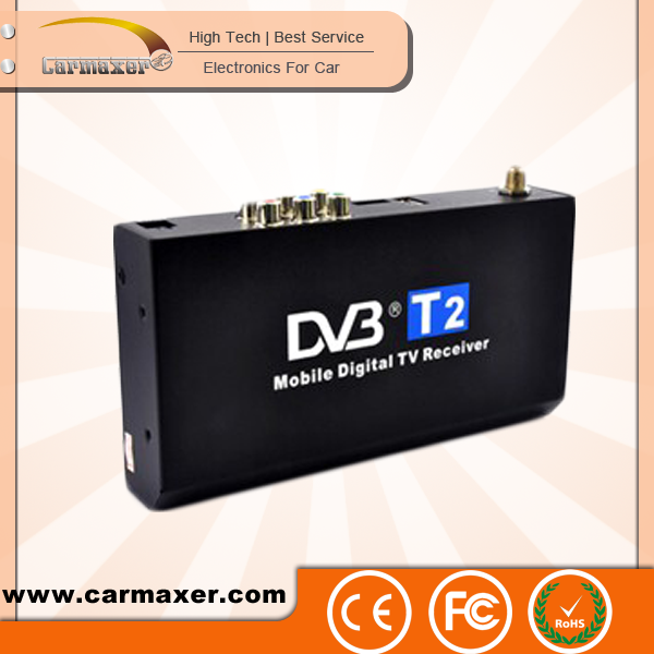 wholesale car dvb-t2 box mobile digital tv receiver star track digital satellite dish tv receiver