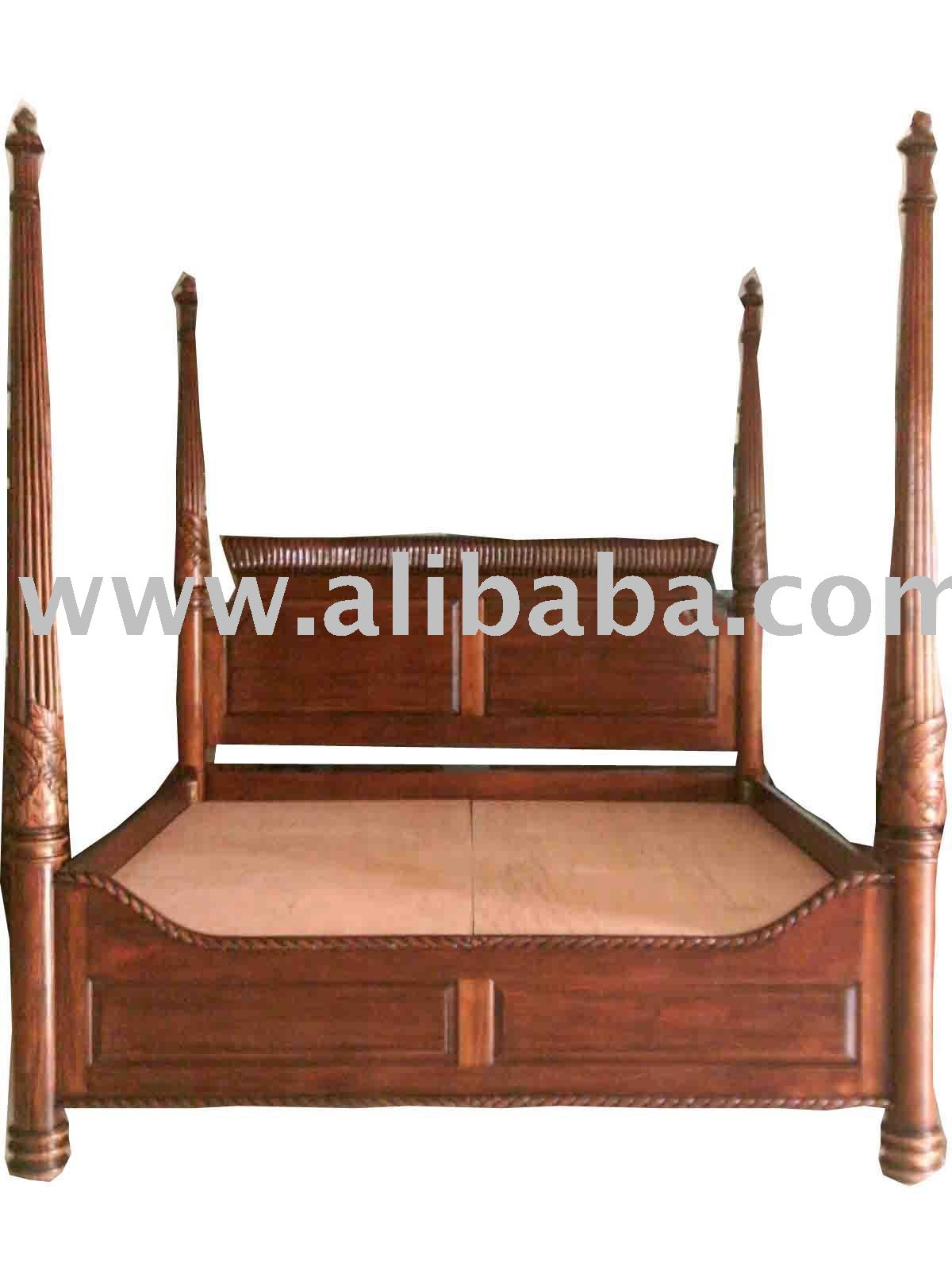 Mahogany Four Poster Beds, Mahogany Four Poster Beds Suppliers and  Manufacturers at Alibaba.com