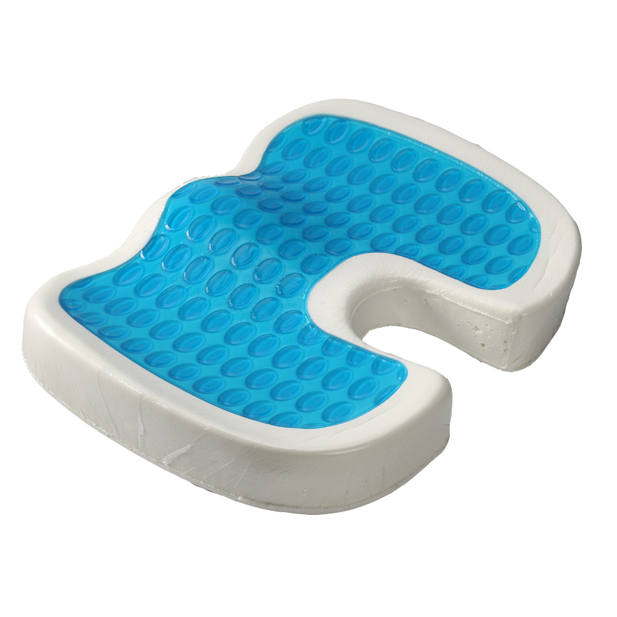 More Cooler/More Comfortable Better Quality Cool Othopedic Gel Chair Cushion/ Waterproof Shower Cooling Car Seat Cushion