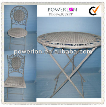 wrought iron indoor furniture. Folding Classic Wrought Iron Indoor Furniture D