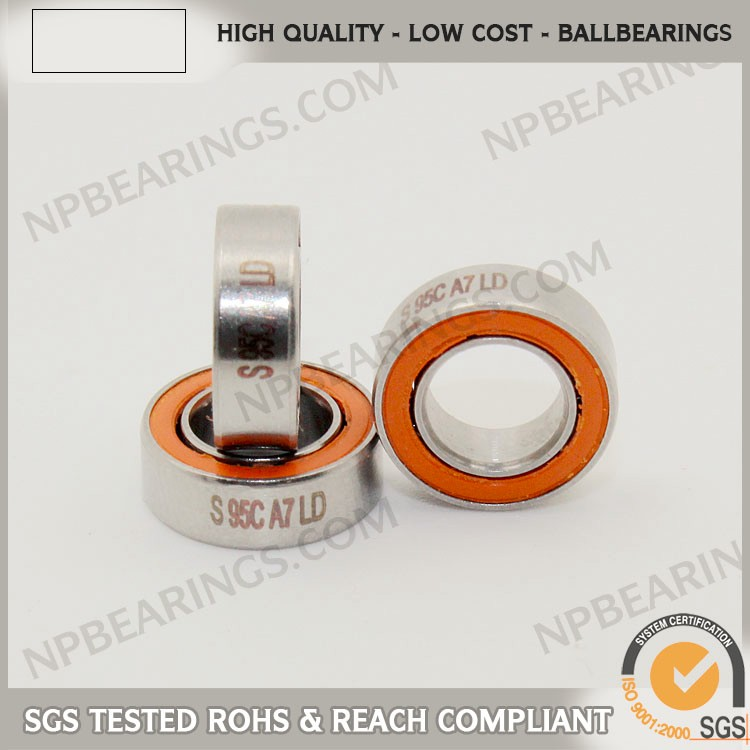 cn Ultra Precision small stainless ball bearing teflon coated