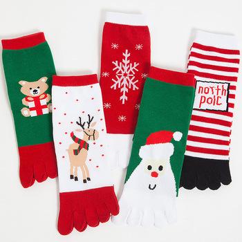 discount women sheer bamboo wholesale lighted funny christmas socks - Funny Christmas Socks