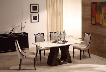 Italian Design Wooden 4 6 Seater Dining Table Buy Italian Marble