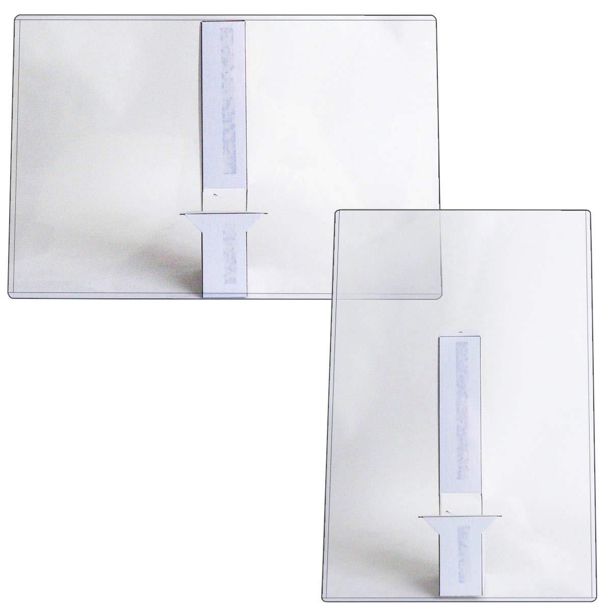 "StoreSMART - 12"" x 18"" - Rigid Print Toploader Frame with 12"" Easel Back - 25-Pack - HPP12X18EB-25"
