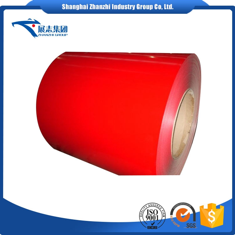 2016 High Quality Steel Ppgi Prepainted G I Coil/Color Coated Steel Coil