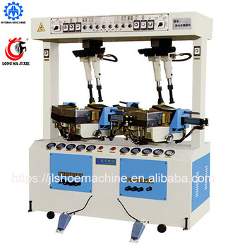 LM-227 Walled Gantry Sole Pressing Machine sole attaching machine shoe pressing making machine