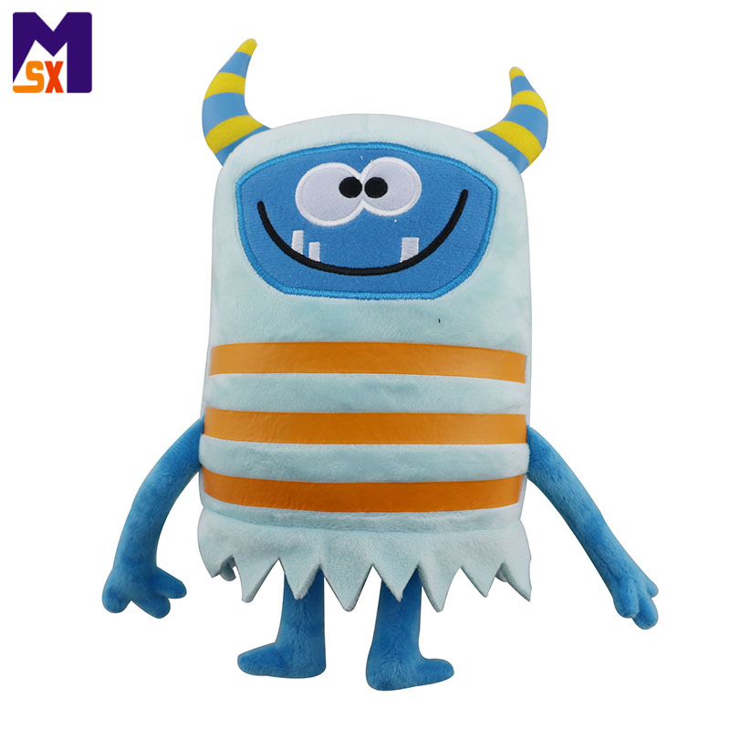 Wholesale stuffed animals toys cute plush monster for kids