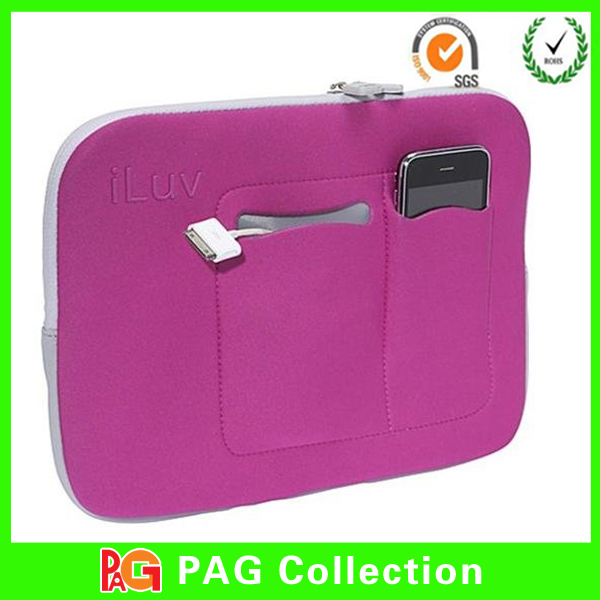 neoprene laptop bag / cover/ sleeve with zipper for macbook / notebook / tablet / ipad