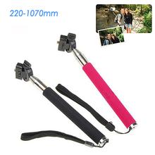 Gopro Accessories Extendable Palo Self Monopod Selfie Stick Tripod for Go pro Hero 4 3 SJ4000 xiaomi yi Camera Stand mount