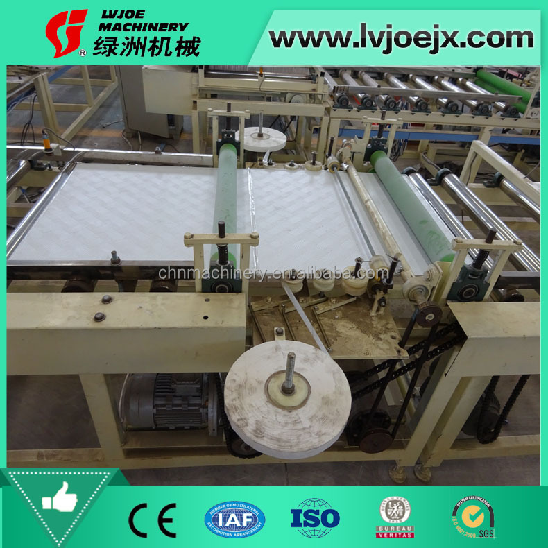 Full-automatic Edge sealing machine/edge taping machine/Covering machine for gypsum board production line
